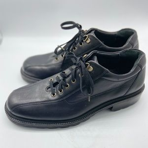Cole Haan Mens Lace Up Oxfords Round Toe Black 9.5